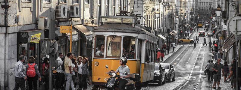 Puente de Diciembre en Lisboa