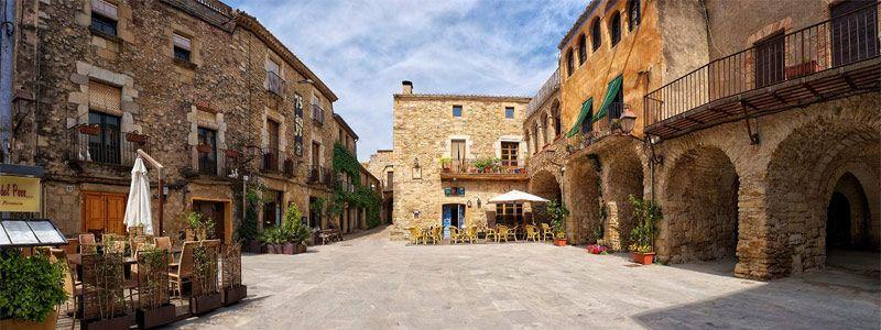 Pueblos Medievales, Pals y Peratallada