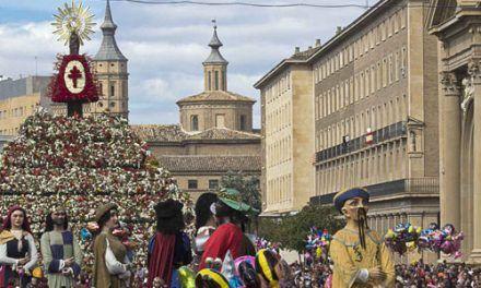 Fiesta del Pilar en Zaragoza y Alquezar