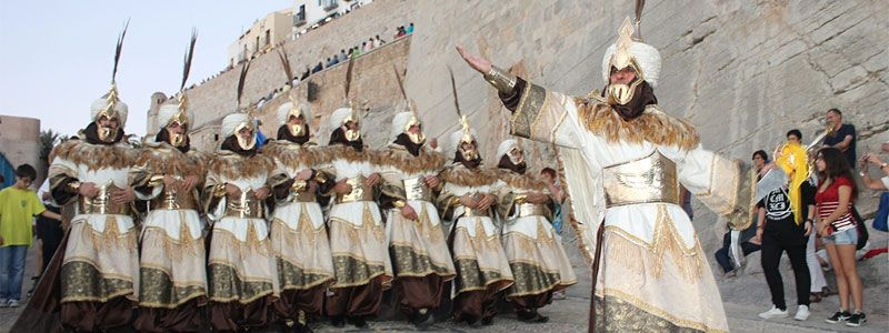 Moros y Cristianos en Peñiscola