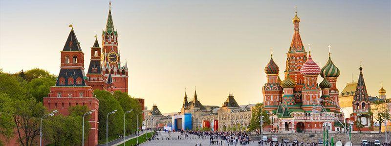 Rusia: Moscú y San Petersburgo