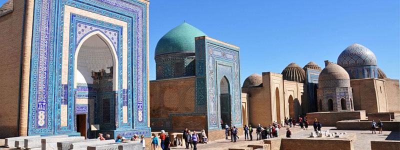 Uzbekistán, Ruta de Samarkanda
