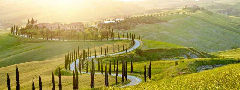 Toscana y la Umbría